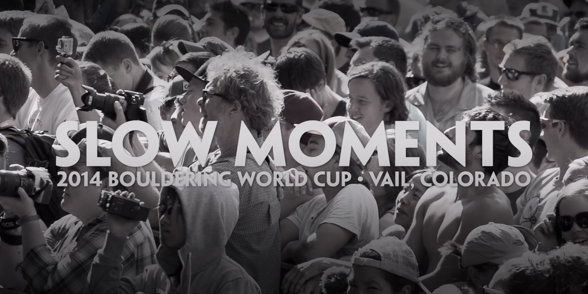 Slow Moments — Bouldering World Cup