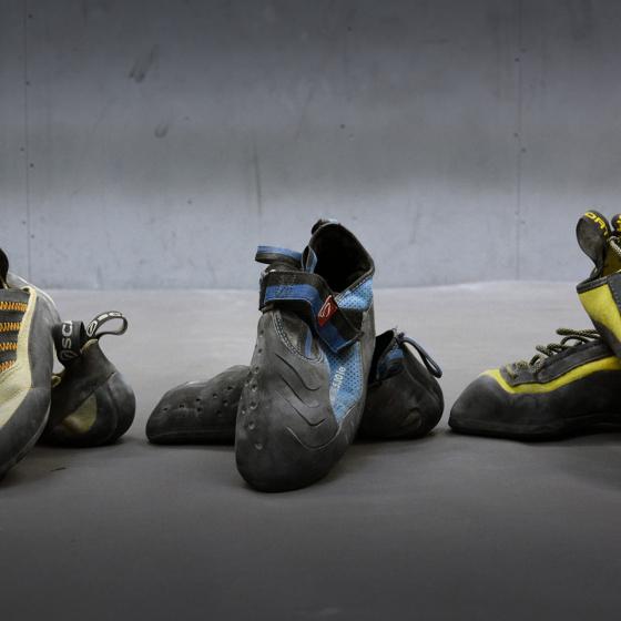 Как выбрать скальные туфли?