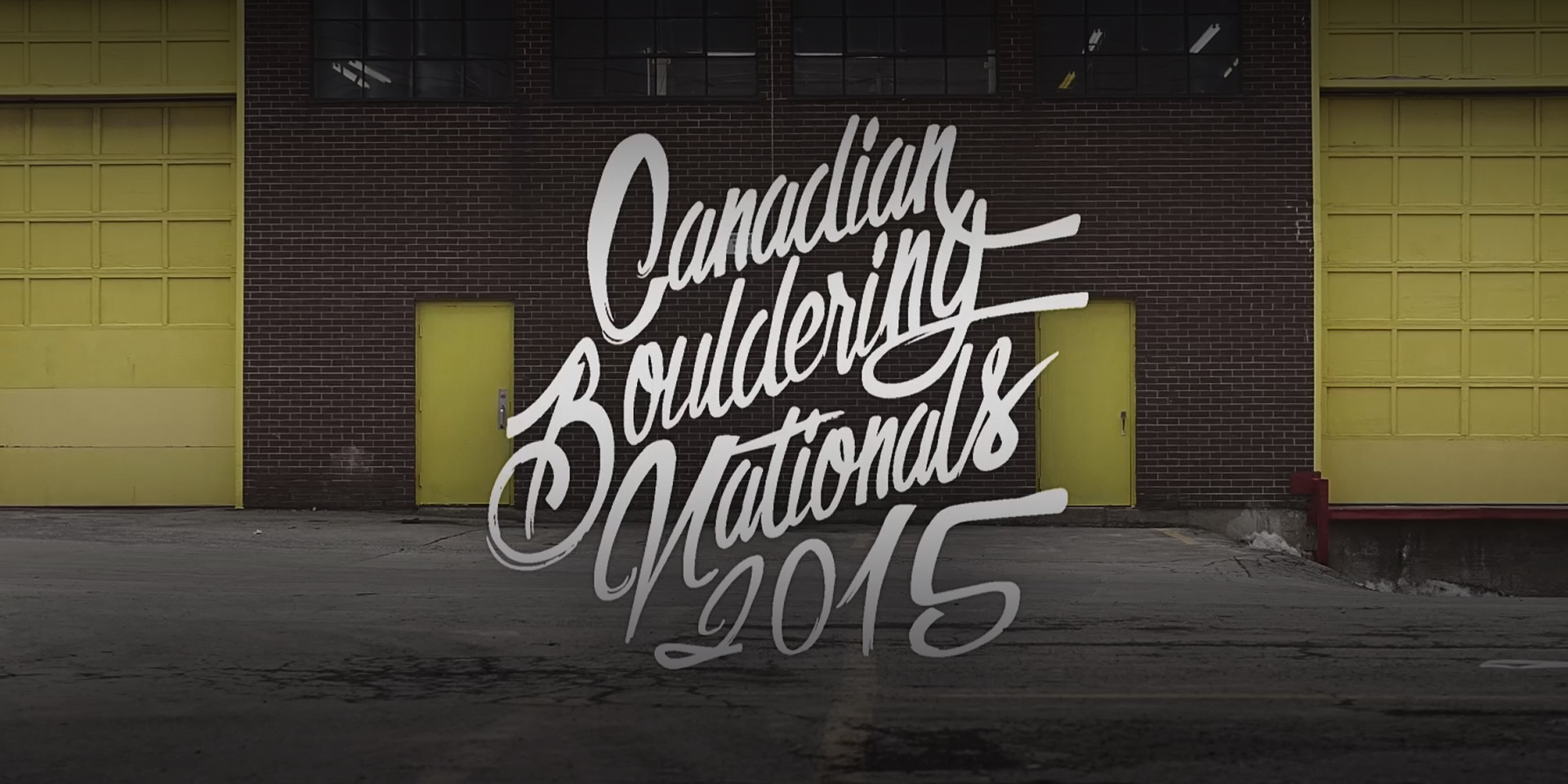 Canadian Bouldering Nationals